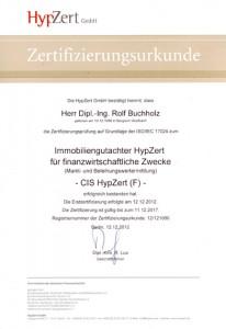 HypZert F - Rolf Buchholz 2012